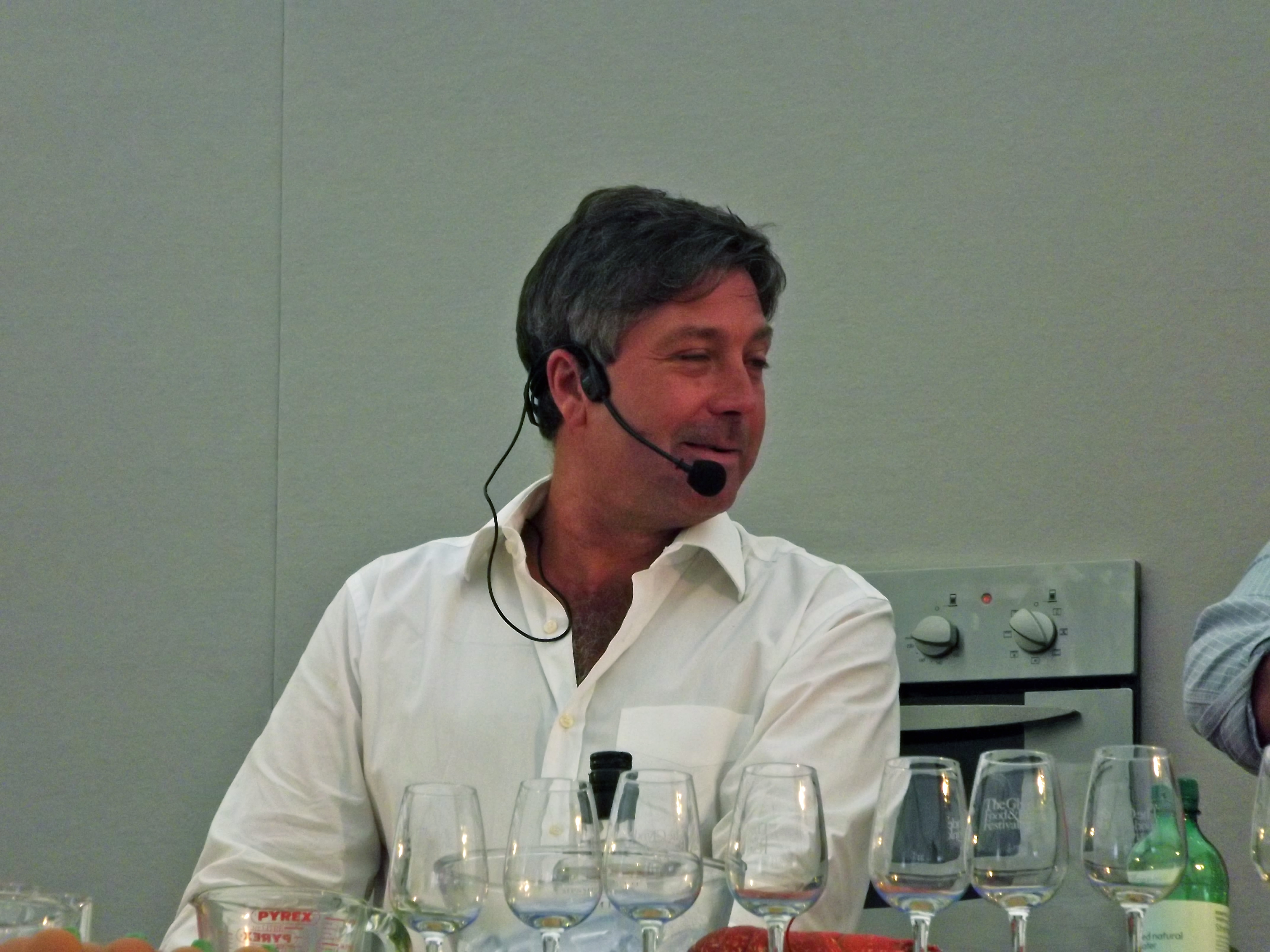 glynde food festival John Torode